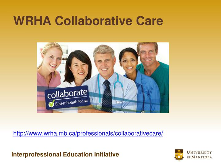 WRHA Collaborative Care