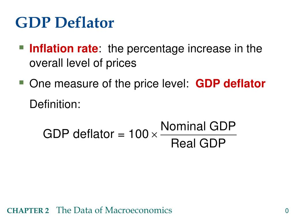 ppt - gdp deflator powerpoint presentation - id:6528103