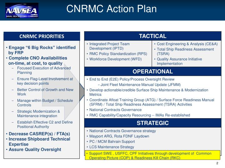 Cnrmc action plan