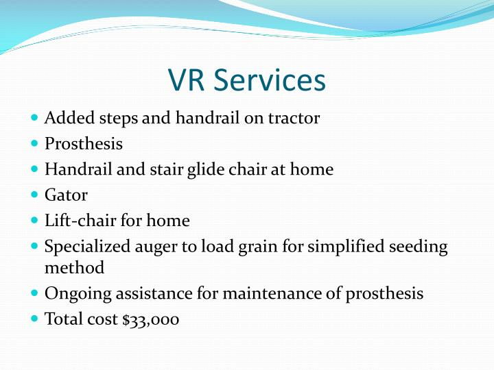 VR Services