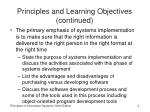 principles and learning objectives continued1