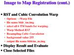 image to map registration cont2