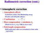 radiometric correction cont1