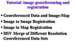 tutorial image georeferencing and registration
