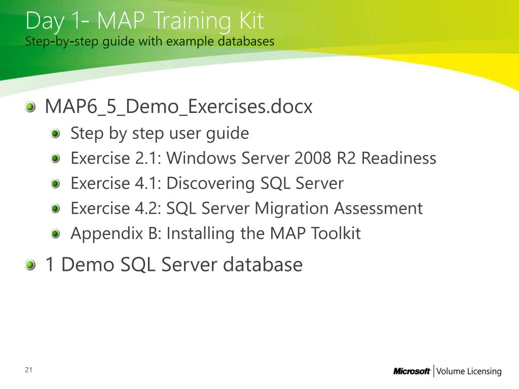 PPT - SQL Server Deployment Planning Services Upgrading to