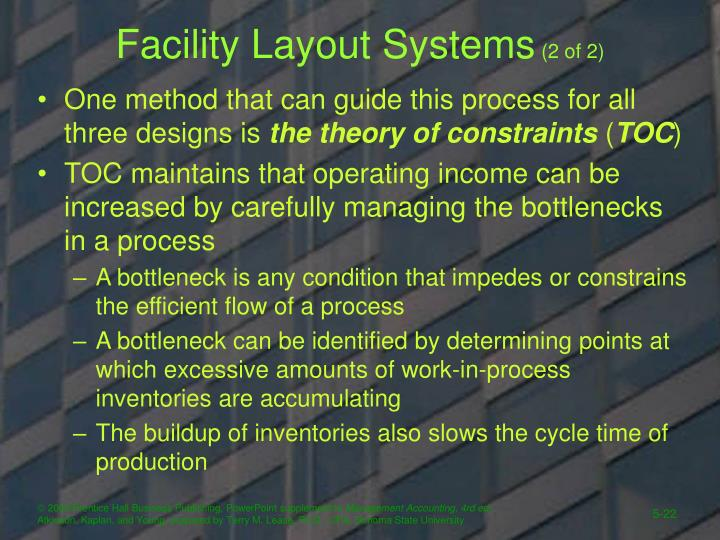 Facility Layout Systems