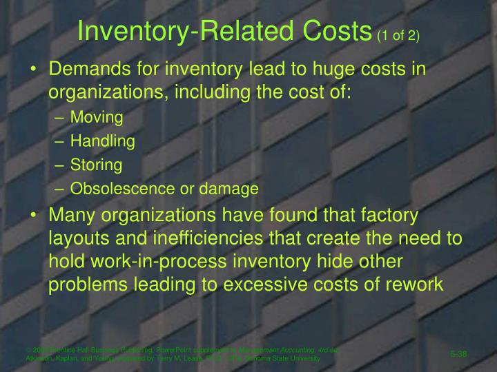 Inventory-Related Costs