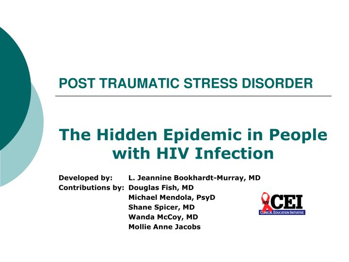 an overview of the post traumatic stress disorder in medical research of the united states