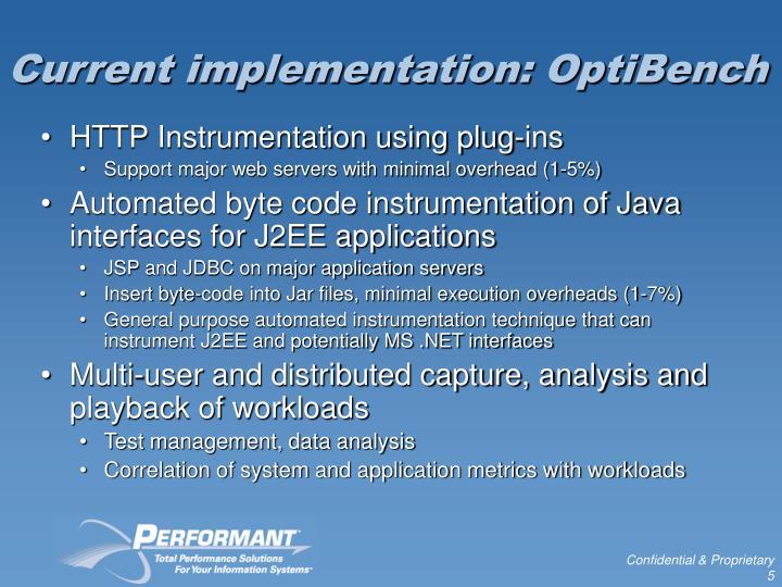 Current implementation: OptiBench