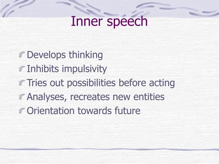 Inner speech