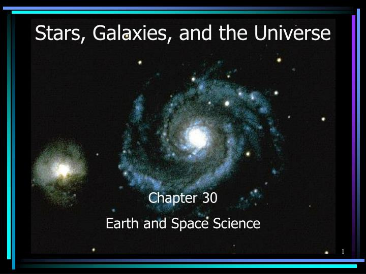 stars galaxies and the universe n.