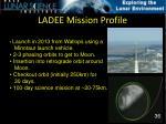 ladee mission profile