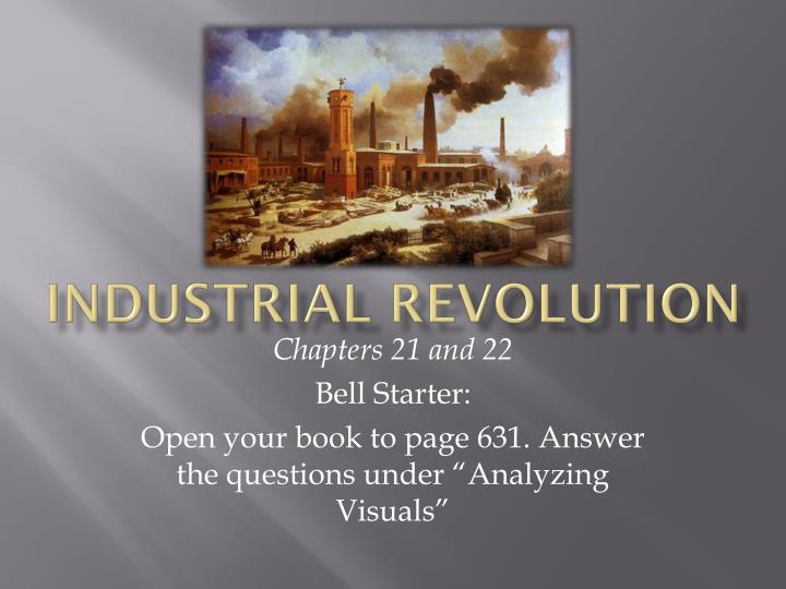 an analysis of industrial revolution in britain