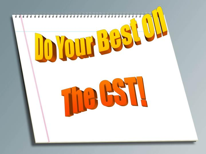 Do Your Best on