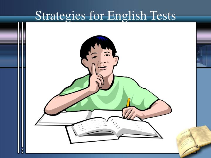 Strategies for English Tests