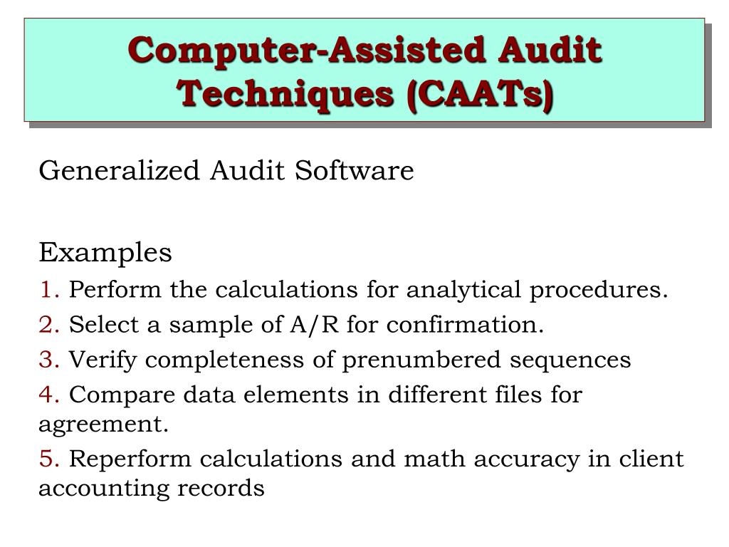 PPT - CHAPTER 6 AUDIT PROCEDURES, AUDIT EVIDENCE, AND
