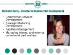 michelle berry director of commercial development
