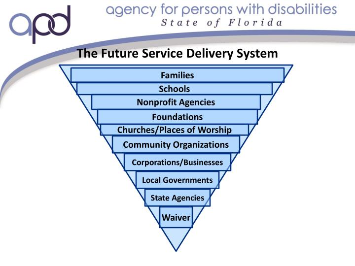 The Future Service Delivery System
