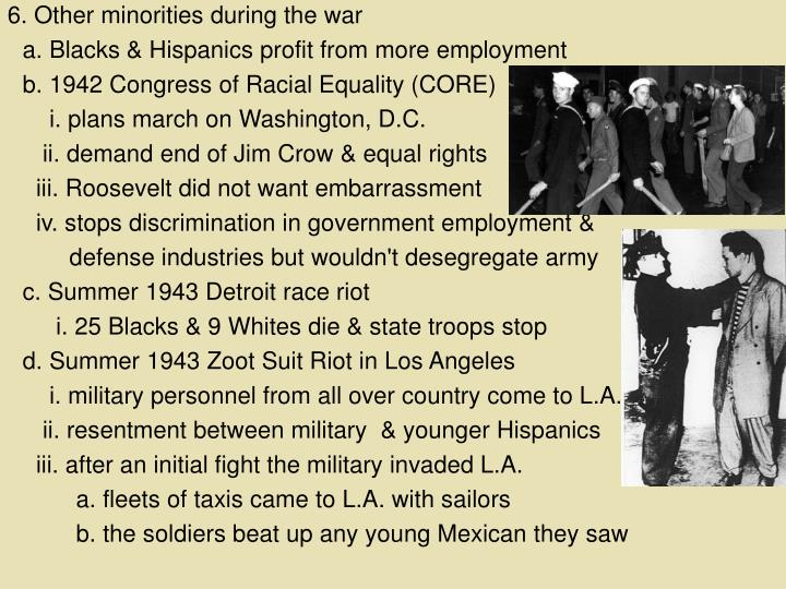 6. Other minorities during the war