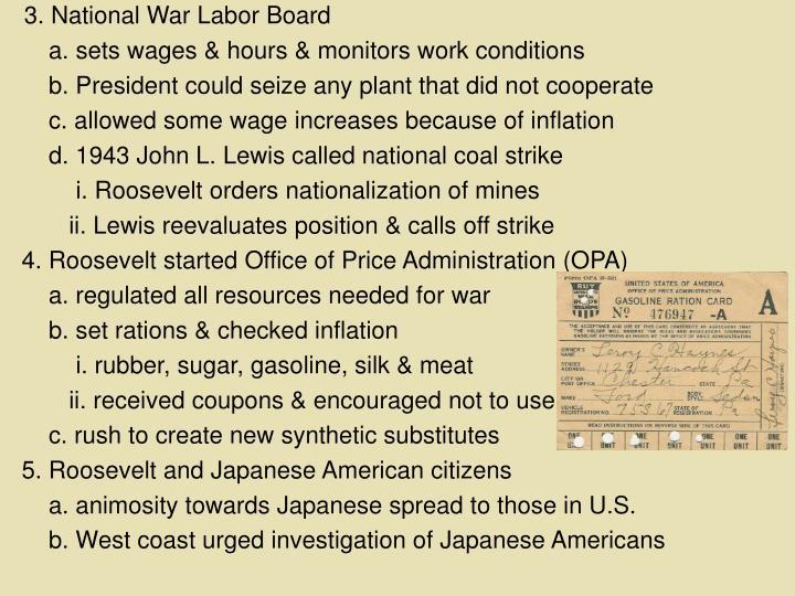 3. National War Labor Board