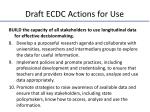 draft ecdc actions for use2