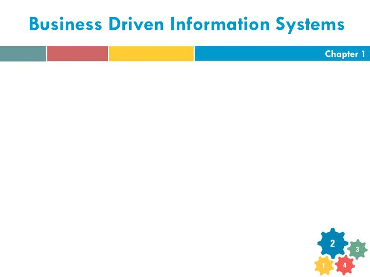 business driven information systems n.