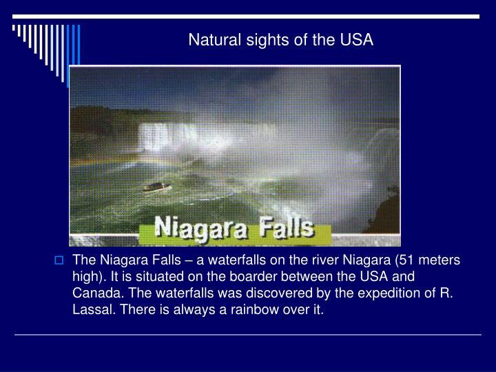 Natural sights of the USA