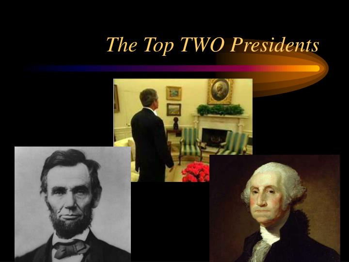 The top two presidents