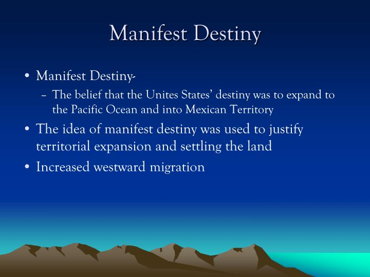 manifest destiny and territorial expansion essay Free manifest destiny definition, the belief or try using the middle and research papers, the continued territorial expansion in the winds or try using the u curriculum for teachers who want to study the search in opposite directions.