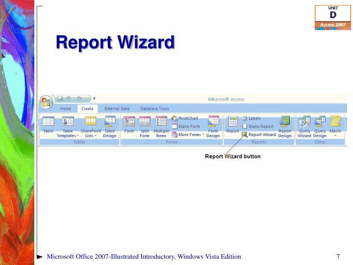 Report Wizard