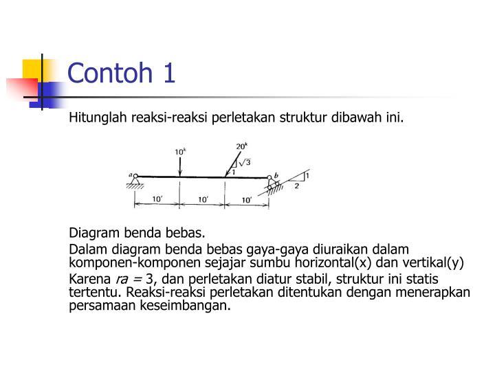 Ppt sistem perletakan dan gaya reaksi powerpoint presentation id hitunglah reaksi reaksi perletakan struktur dibawah ini diagram benda bebas ccuart Gallery