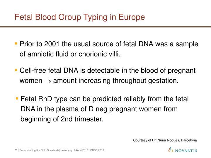 Fetal Blood Group