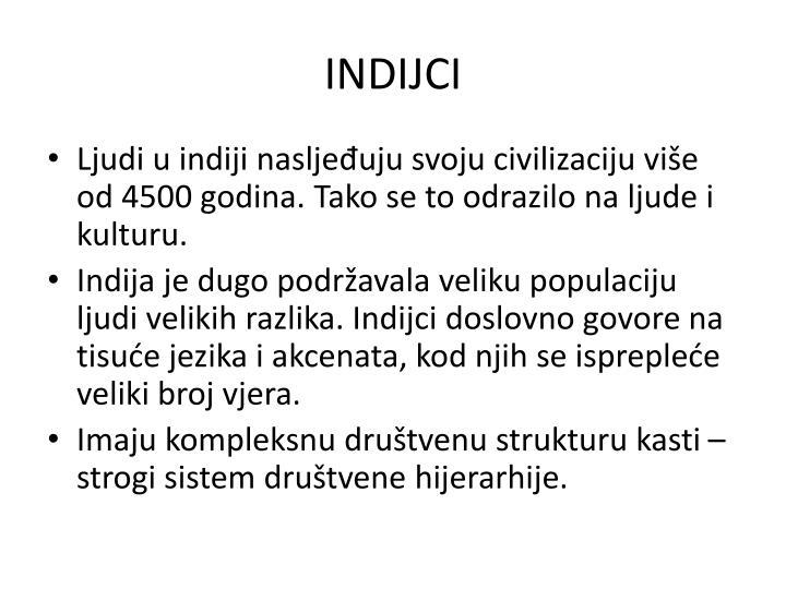 INDIJCI