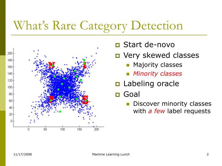 analysis of rare categories he jingrui