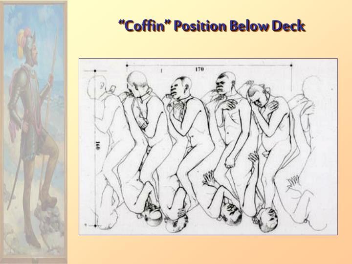 """""""Coffin"""" Position Below Deck"""