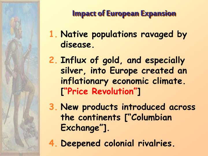 Impact of European Expansion