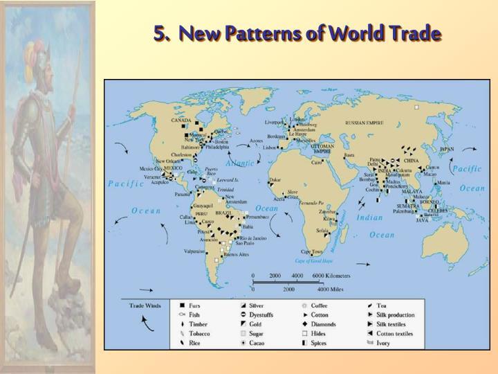 5.  New Patterns of World Trade