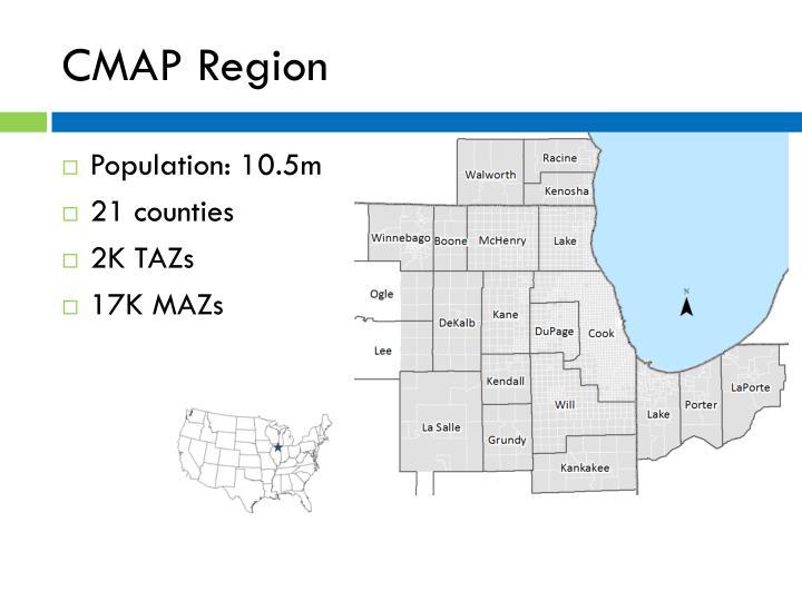 Cmap region