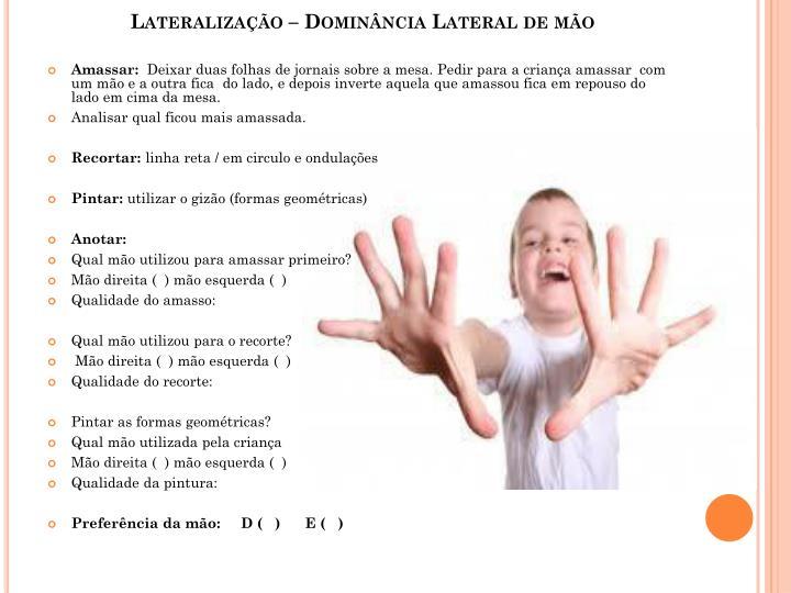 Lateralização