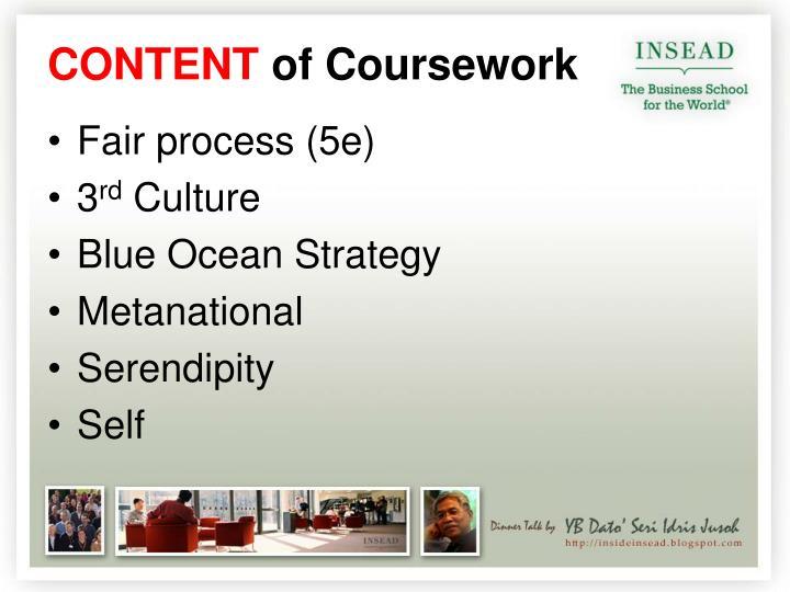 Fair process (5e)