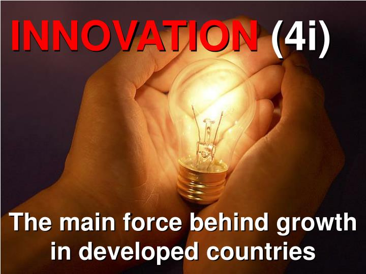 The main force behind growth in developed countries