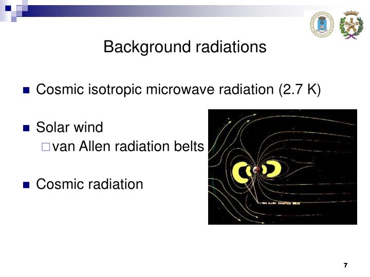 Background radiations