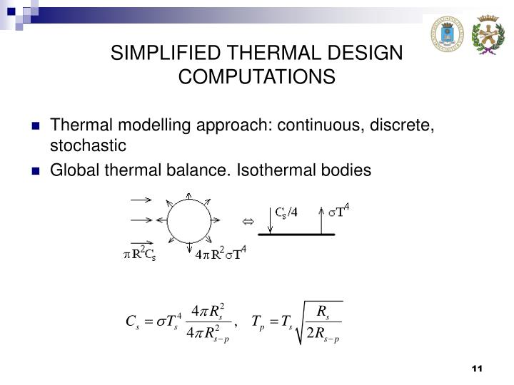 SIMPLIFIED THERMAL DESIGN