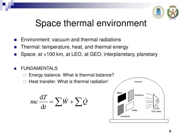 Space thermal environment1
