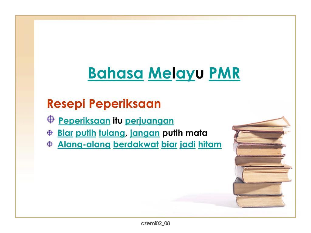 Ppt Bah Asa Me L Ay U Pmr Powerpoint Presentation Free Download Id 6533263