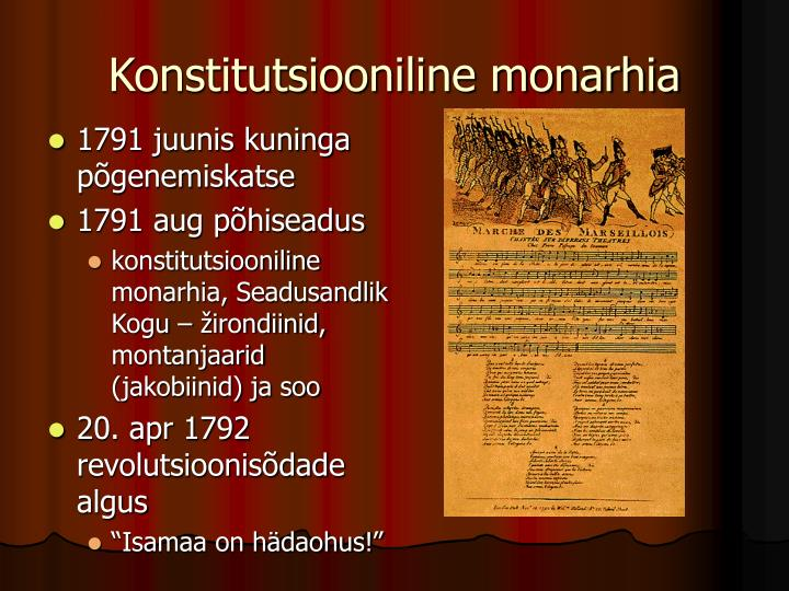 Konstitutsiooniline monarhia