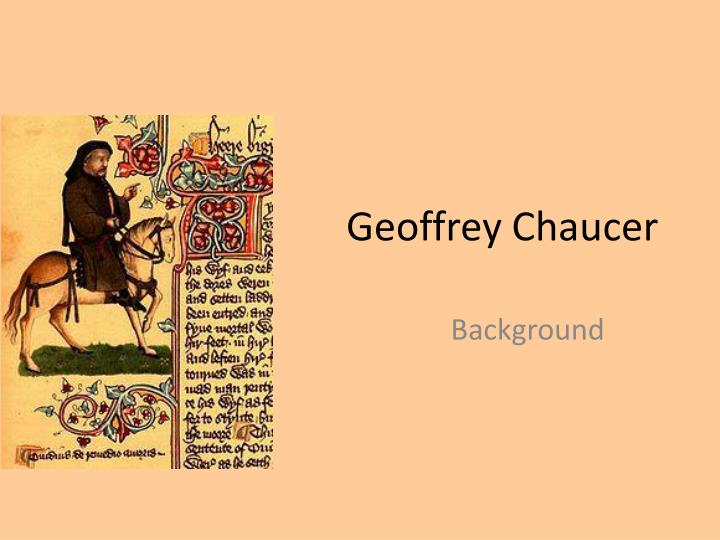 the medieval concept if the wife of baths tale by geoffrey chaucer Critical analysis essay- the wife of bath's tale from enl 2012 at university of florida 1 a medieval take on the wife of bath's tale, geoffrey chaucer is.