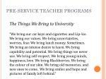 pre service teacher programs9