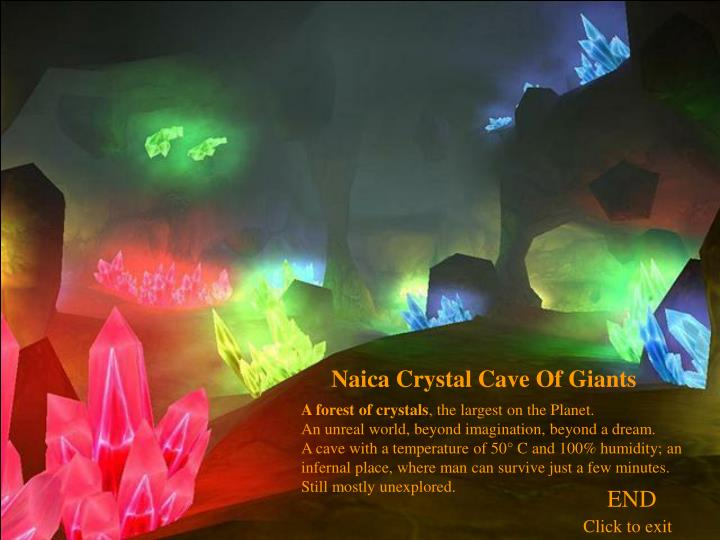 Naica Crystal Cave Of Giants