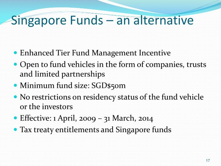 Enhanced Tier Fund Management Incentive
